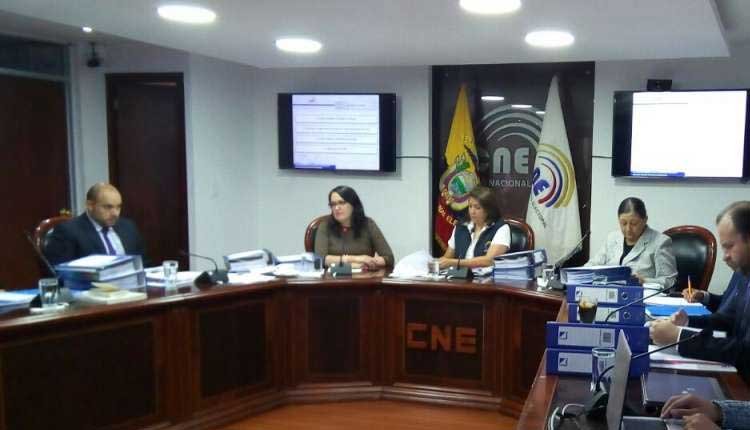 CNE, Elecciones, Ecuador,