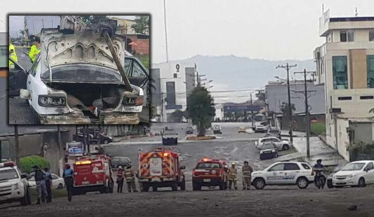 "Explosión controlada de un ""carro bomba"" en Santo Domingo preocupó a los moradores"