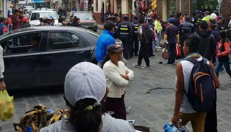 Comerciantes, Tungurahua, Ecuador,