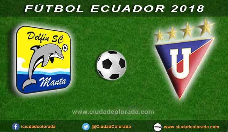 Delfín, Liga de Quito, Fútbol, Campeonato Ecuatoriano,