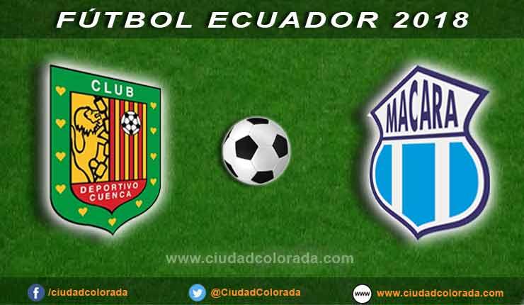 Deportivo Cuenca, Macará, Fútbol, Campeonato Ecuatoriano,