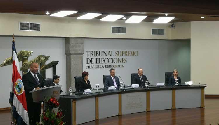 Elecciones, TSE, Costa Rica, Política,