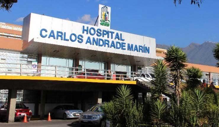 Hospital Carlos Andrade Marín, en Quito