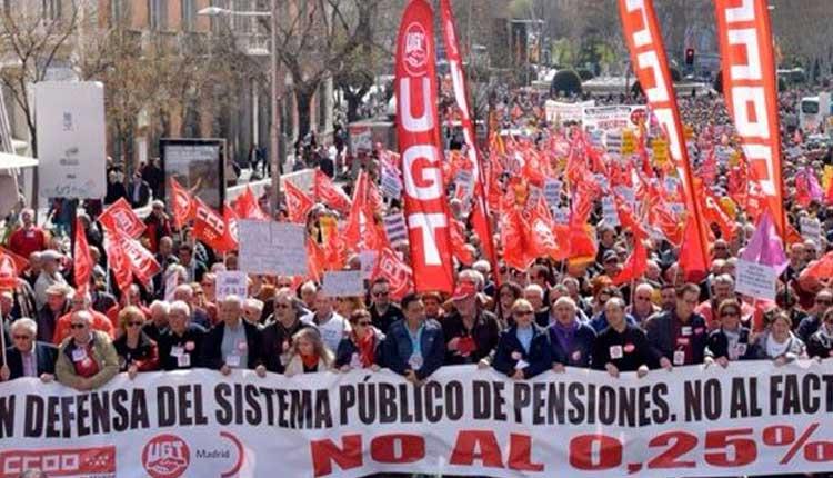 Jubilados, España, Mariano Rajoy,