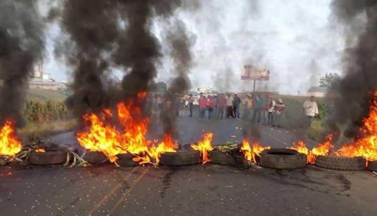 Paro de maiceros en Ecuador
