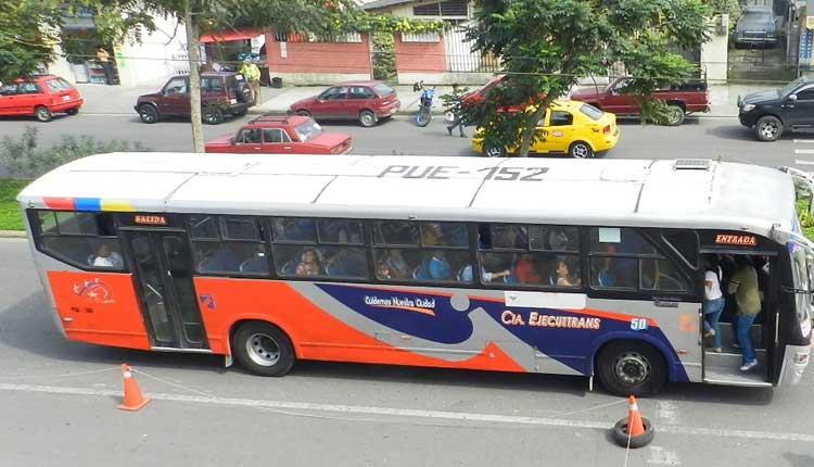 Transporte Urbano, Santo Domingo, Victor Manuel Quirola,