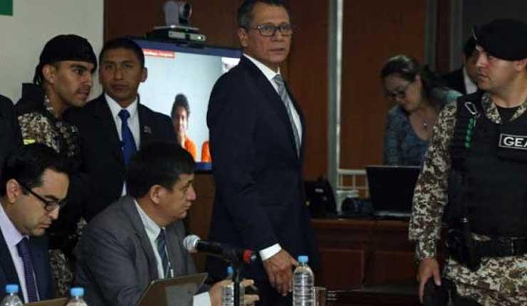 Suspendida audiencia de apelación caso Jorge Glas