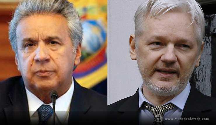 Moreno dice que él no decidió otorgar la nacionalidad ecuatoriana a Assange