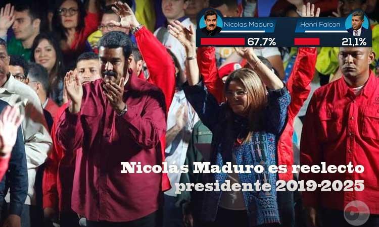 Nicolás Maduro gana las presidenciales en Venezuela con el 67.7% de los votos válidos