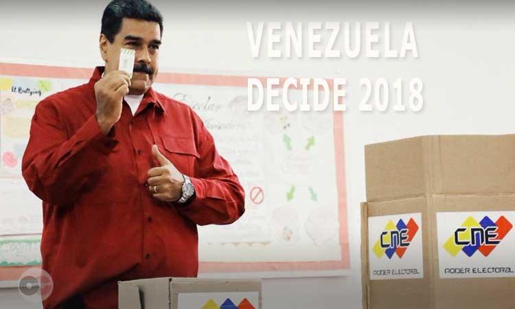 Venezuela inicia proceso de votación, Maduro votó primero