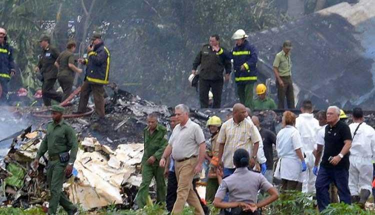Cuba, Accidente Aéreo, La Habana,