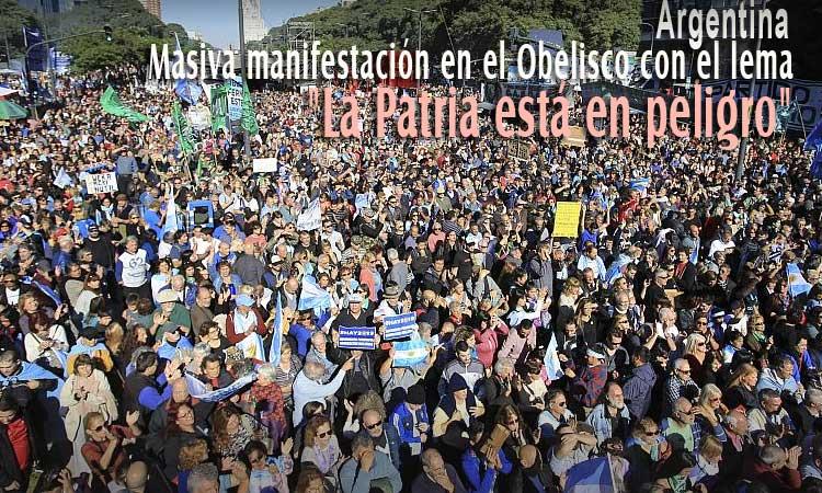 En Argentina multitudinaria marcha frente a la políticas de Macri y en rechazo a las negociaciones con el FMI