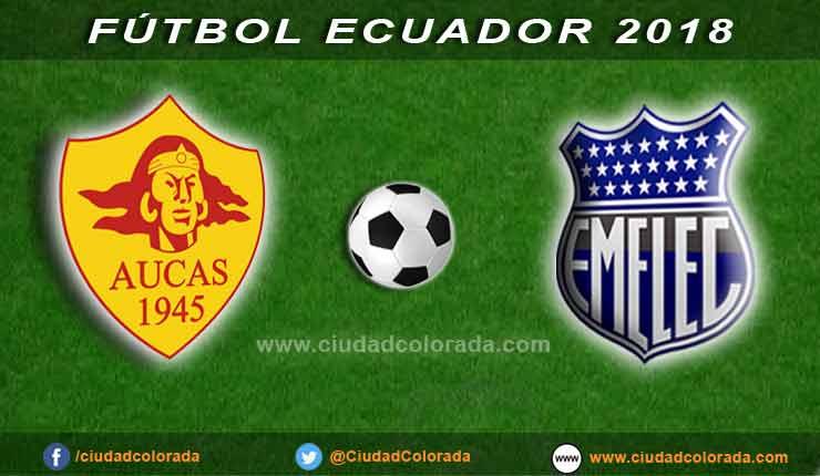 Aucas, Emelec, Fútbol, Campeonato Ecuatoriano,