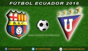 Barcelona, Liga de Quito, Fútbol, Campeonato Ecuatoriano,