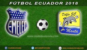 Emelec, Delfín, Fútbol en Vivo,  GOL TV, Campeonato Ecuatoriano,