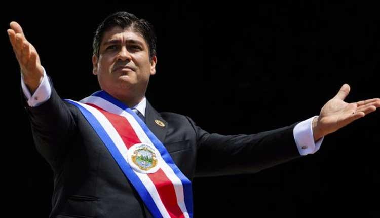 Costa Rica, Carlos Alvarado, Política,