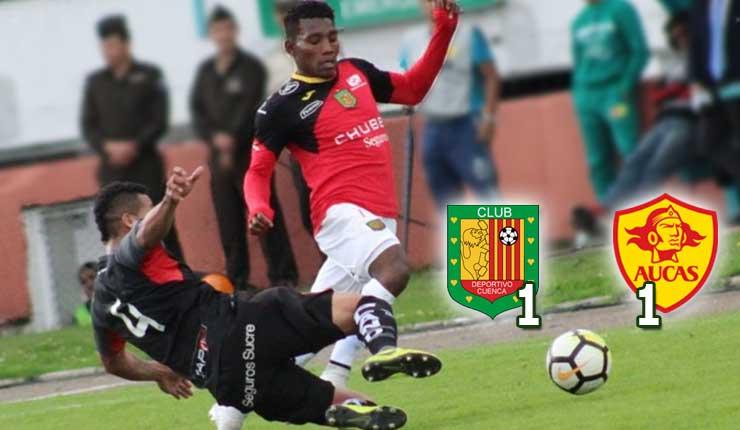 Deportivo Cuenca 1 - 1 Aucas