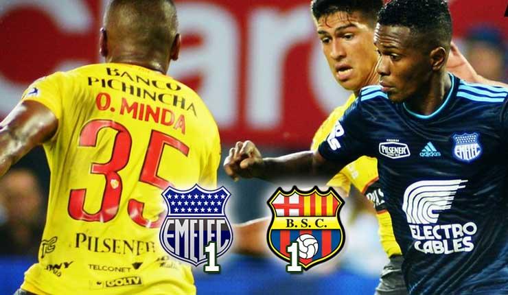 Emelec 1 vs 1 Barcelona