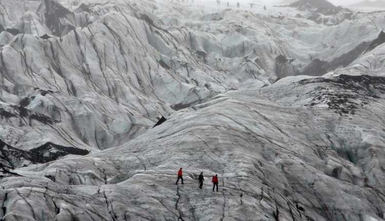 Islandia, Sociedad, glaciares,
