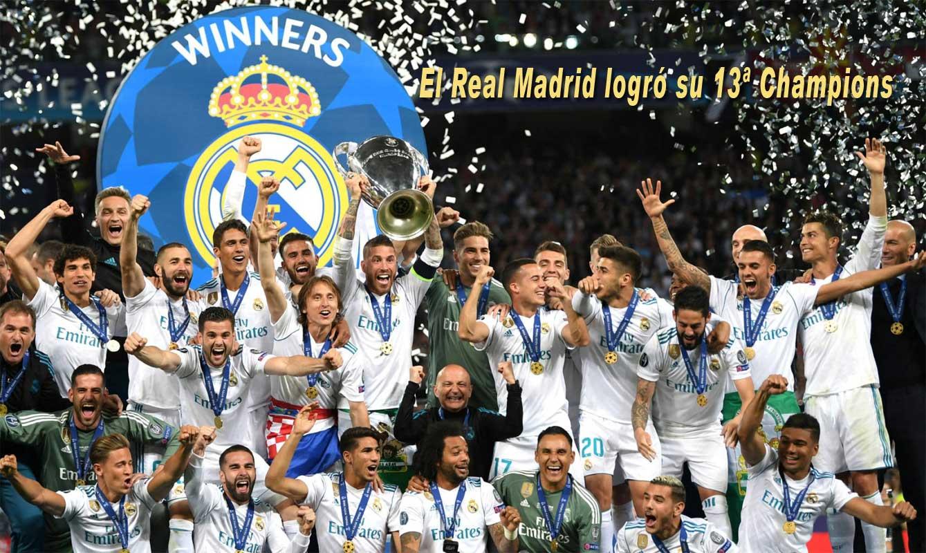 El Real Madrid vence al Liverpool 3-1 y se corona campeón de la Liga de Campeones