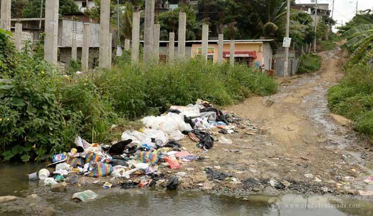 En el norte de Guayaquil tienen 20 años sin obras
