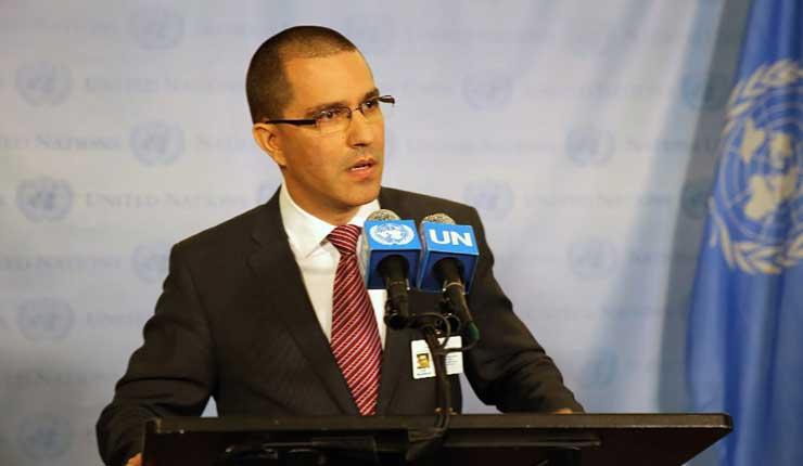 OEA, Jorge Arreaza, Política, Venezuela,