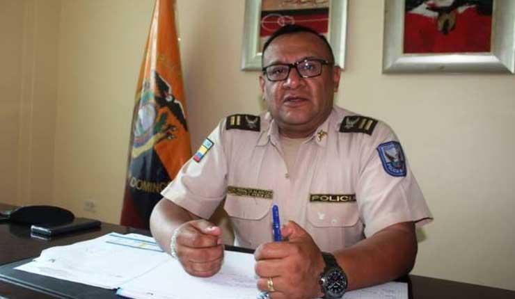 Cantón la La Concordia tiene nuevo Jefe Policial