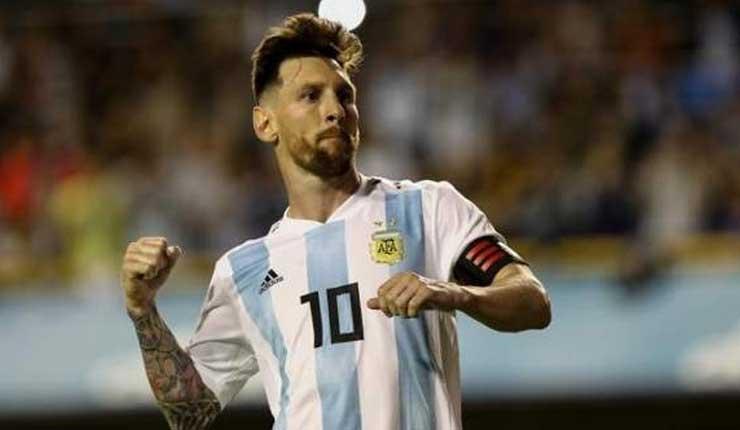 """Niños palestinos, a Messi: """"Vienes a jugar con tus amigos a un estadio hecho sobre nuestra aldea destruida"""""""