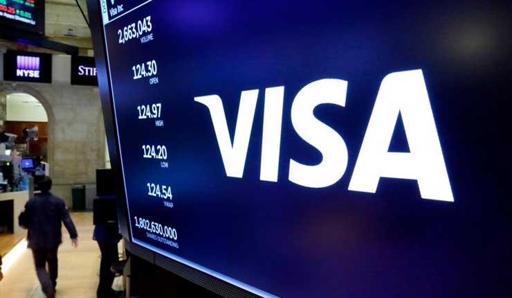 Visa descarta ciberataque en problema con sus tarjetas