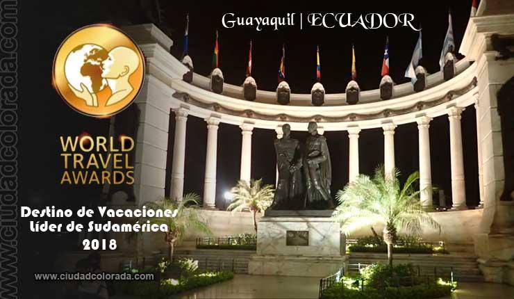 Guayaquil será la sede World Travel Awards 2018