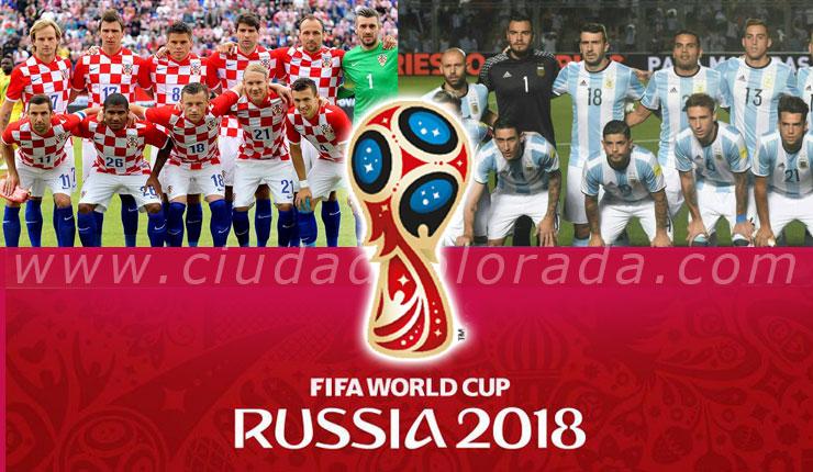 Argentina vs. Croacia: Juegan hoy EN VIVO