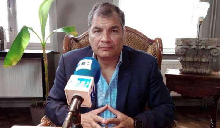 Correa analiza pedir asilo en Bélgica si se ve obligado a volver a Ecuador