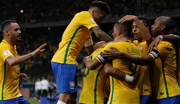 Brasil, Fútbol, Rusia, Suecia,