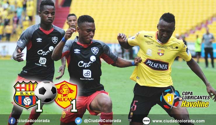 Barcelona 1 - 1 Aucas | FÚTBOL ECUADOR