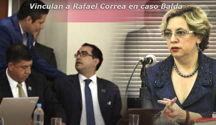Fiscal encargado y jueza Camacho vinculan a Rafael Correa a juicio por supuesto secuestro
