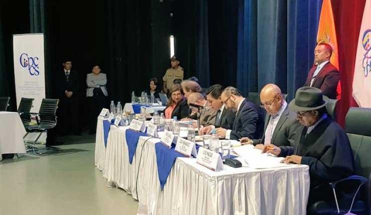 Gustavo Jalkh, Consejo de la Judicatura, CPCCS,