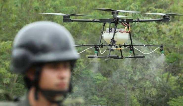 Colombia usará drones para rociar herbicida a campos de coca