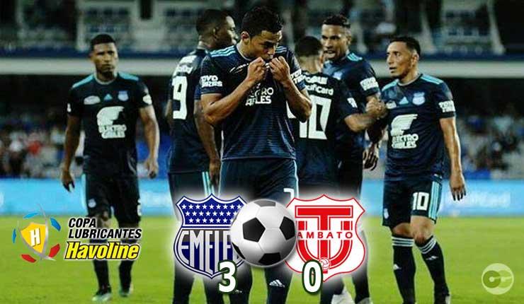 Emelec gustó y ganó en casa 3-0 a Técnico Universitario en el debut de M. Soso