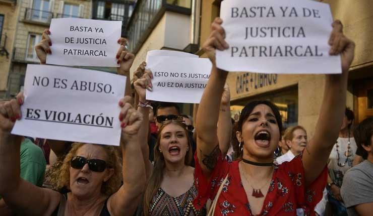 España: Apelarán fallo a favor de acusados de violación