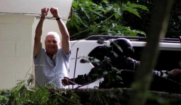 El expresidente de Panamá Ricardo Martinelli, en prisión tras ser extraditado