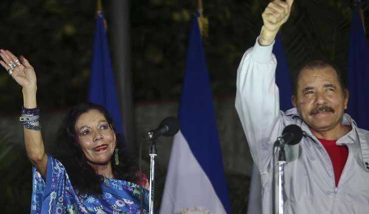 Daniel, Ortega, Nicaragua, Rosario Murillo, Política,