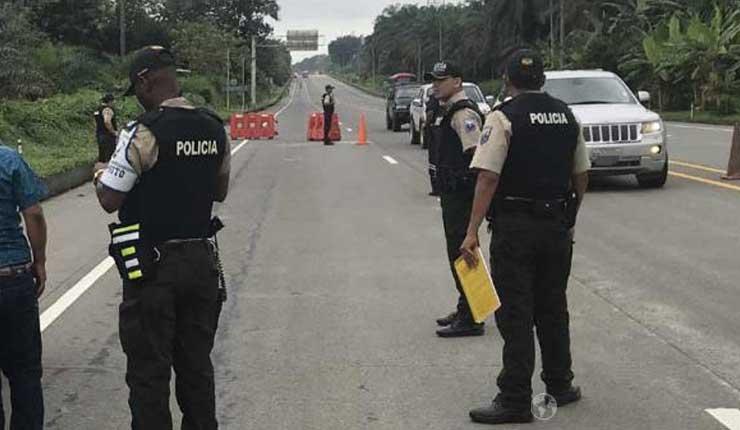 Policía y FF.AA. llegan a Quinindé por avistamiento de grupos armados