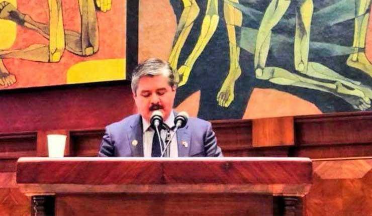 Ecuatoriano Hugo Quiroz preside el Parlamento Andino