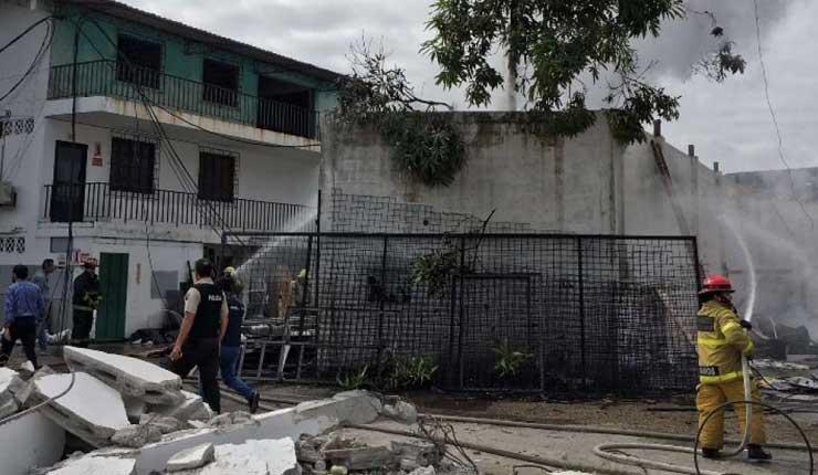 Incendio generó alarma en el norte de Guayaquil