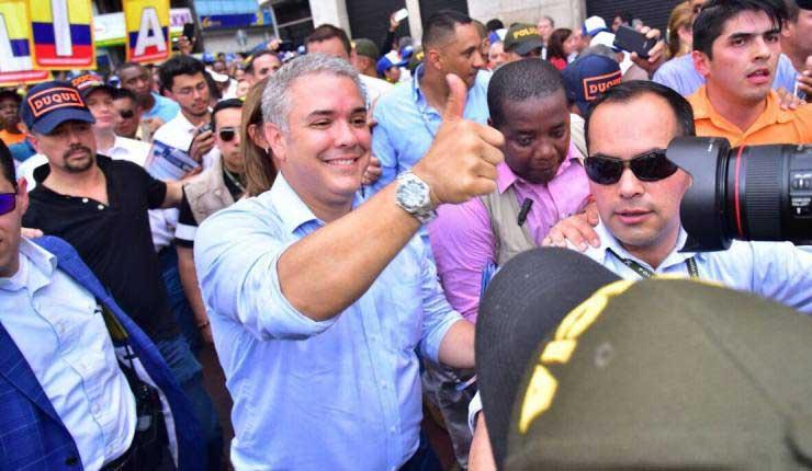 Ivan Duque, Colombia, Política,
