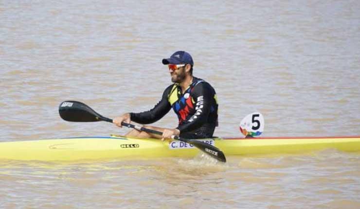 César De Cesare logra la medalla de oro 25 para Ecuador en los Juegos Sudamericanos