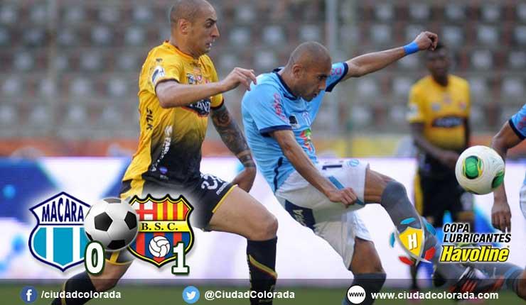 macara 0 - 1 barcelona
