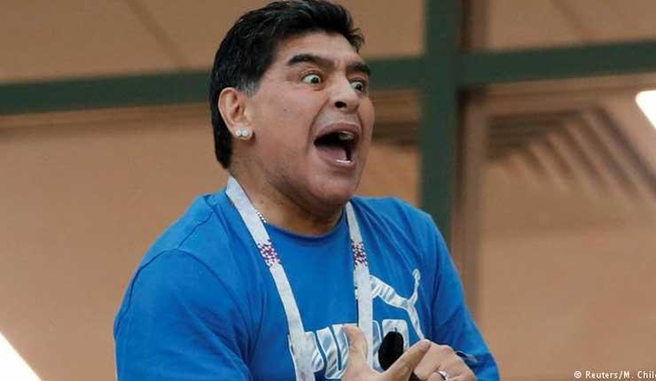 ¿Qué pasa con Diego Armando Maradona?
