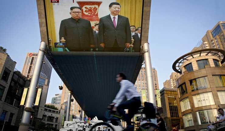 Norcoreano Kim se reúne con presidente chino Xi en Beijing