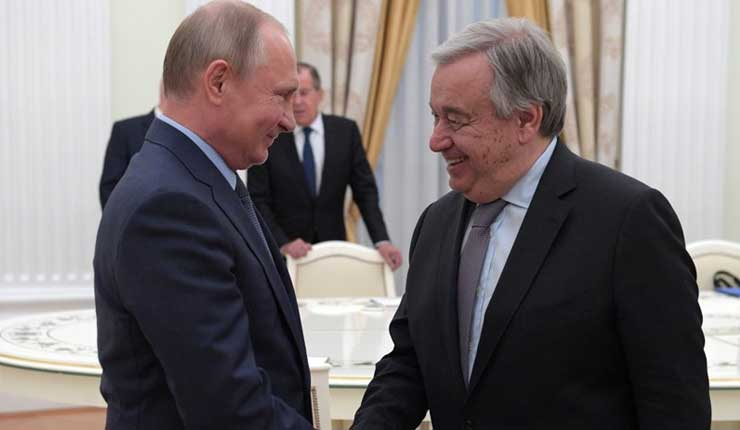ONU y Rusia piden a EEUU volver al Consejo de DDHH de la ONU